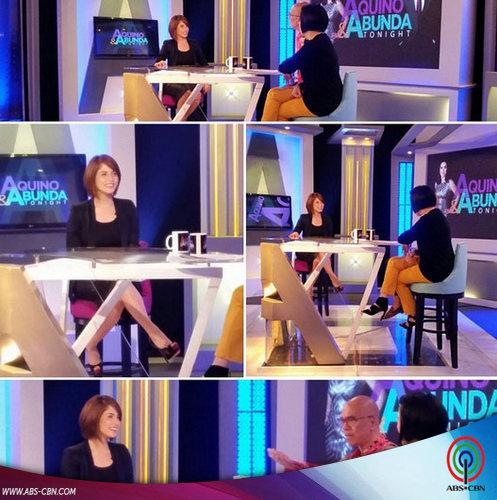 Aquino & Abunda Tonight with Jessy Mendiola