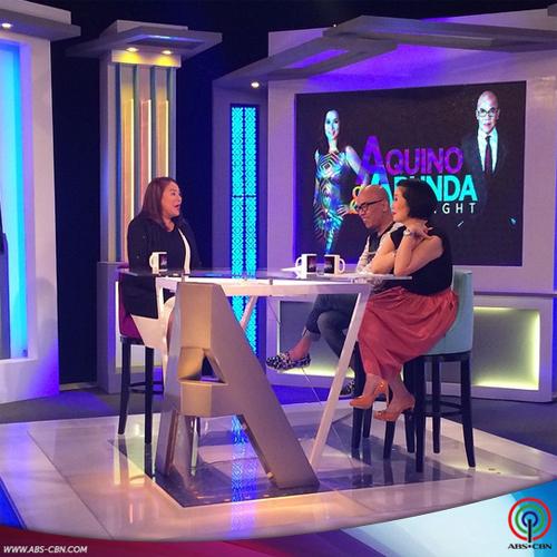 Aquino & Abunda Tonight with Karla Estrada