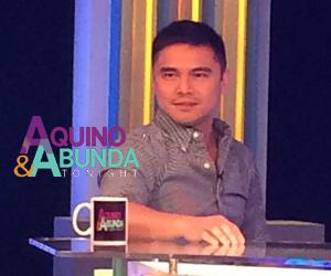 Aquino & Abunda Tonight with Marvin Agustin