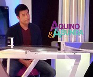 Aquino & Abunda Tonight with Sam Milby