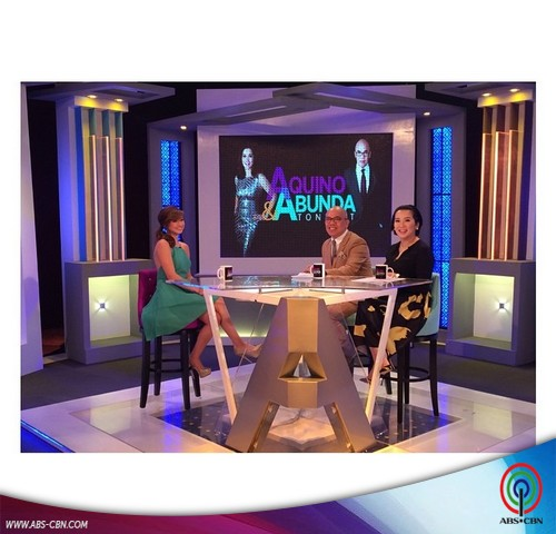 Aquino & Abunda Tonight with Coleen Garcia