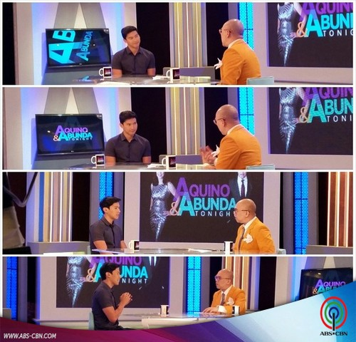 Aquino & Abunda Tonight with Enchong Dee and Gary V