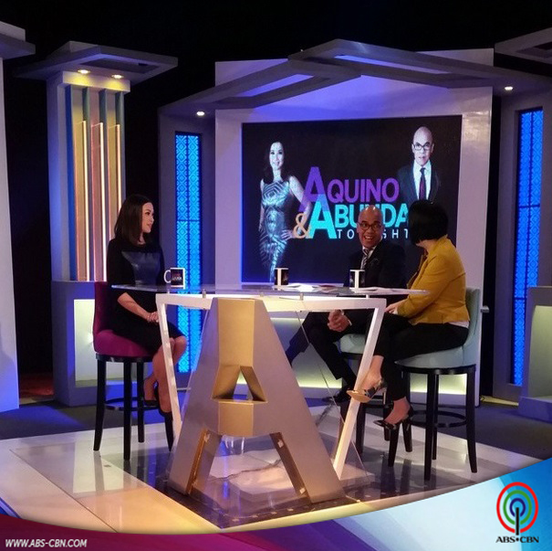 Aquino & Abunda Tonight with Jodi Sta Maria