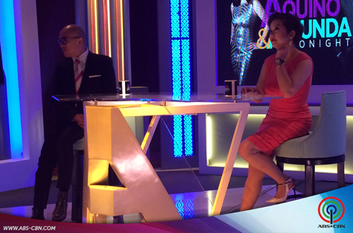 Aquino & Abunda Tonight with Maja Salvador