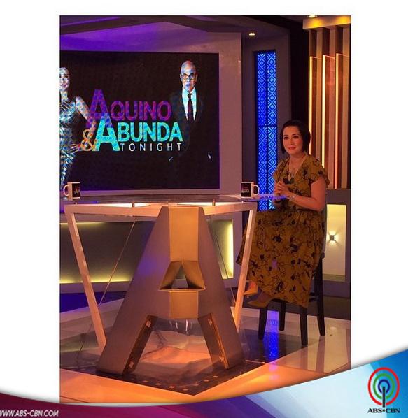 Aquino & Abunda Tonight with Michelle Gumabao