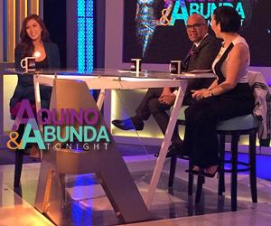 Aquino & Abunda Tonight with Alex Gonzaga