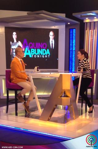 Aquino and Abunda Tonight with Aiza Seguerra and Liza Dino
