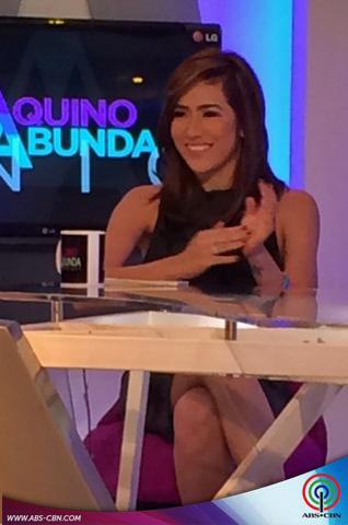Aquino & Abunda Tonight with Angeline Quinto