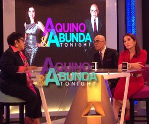 Aquino & Abunda Tonight with Atty. Kapunan