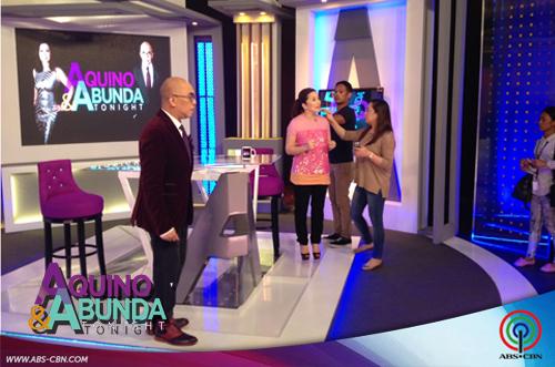 Aquino and Abunda Tonight with Coco Martin