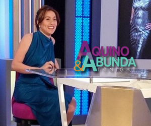 Aquino and Abunda Tonight with Cristine Reyes