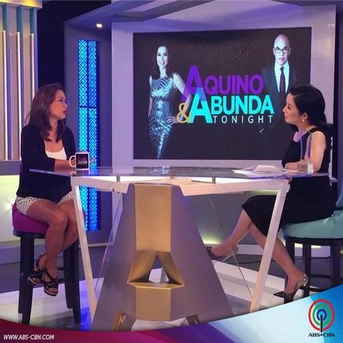 Aquino & Abunda Tonight with Direk Cathy Garcia Molina