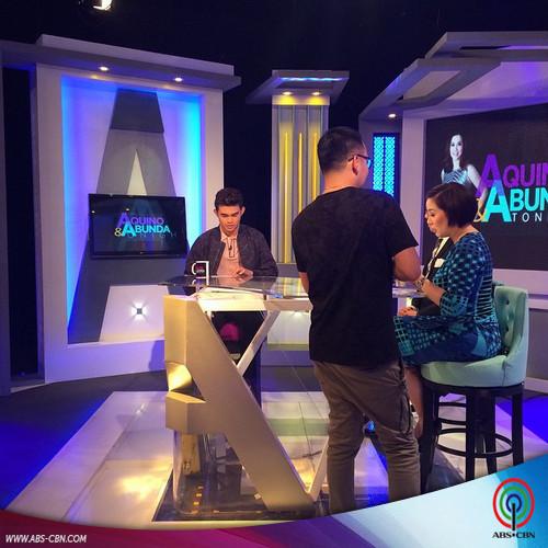 Aquino & Abunda Tonight with Inigo Pascual
