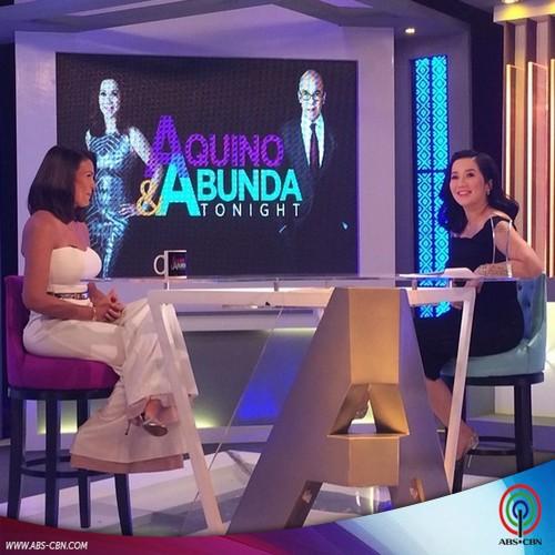 Aquino & Abunda Tonight with Iza Calzado