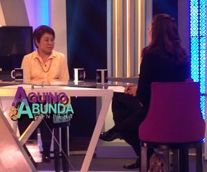 Aquino and Abunda Tonight with Kim Henares