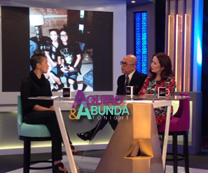 Aquino and Abunda Tonight with Lei Jimenez