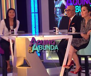 Aquino & Abunda Tonight with MVP-UAAP Season 76 Women's Volleyball Alyssa Valdez