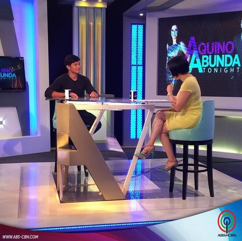 Aquino and Abunda Tonight with Matteo Guidicelli