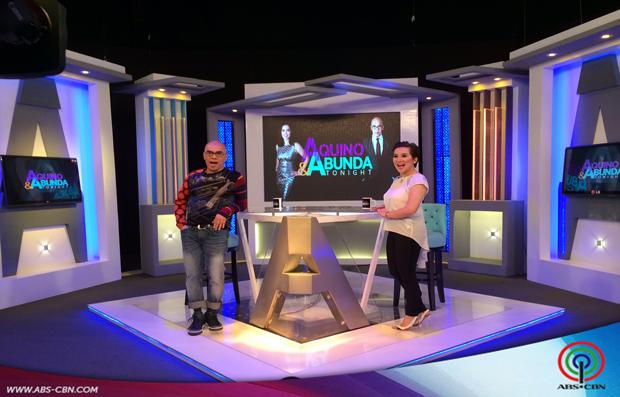 Aquino & Abunda Tonight with Robi Domingo