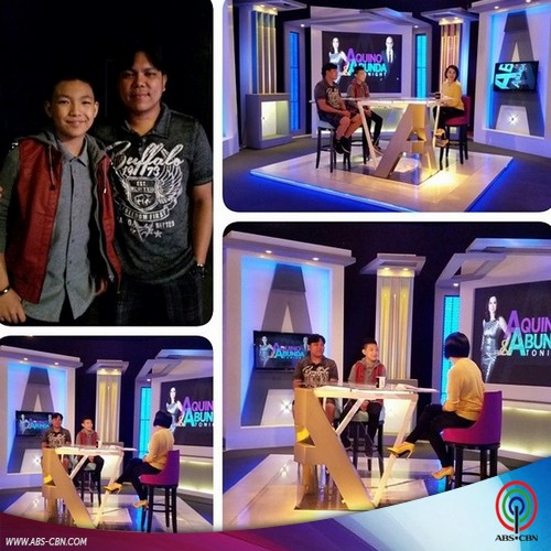 Aquino and Abunda Tonight with The Voice Kids Finalist Darren Espanto