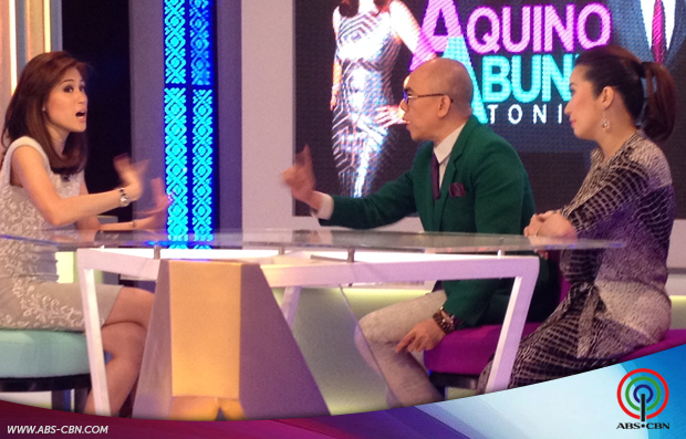 Aquino & Abunda Tonight with Toni G