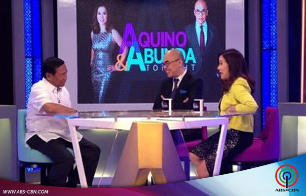 Aquino & Abunda Tonight with VP Binay