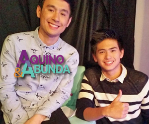 Aquino and Abunda Tonight with PBB All In Ex housemates Fifth and Manalo