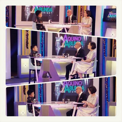 PHOTOS: The amazing Bimby on Aquino & Abunda Tonight