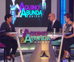 Aquino & Abunda Tonight with Secretary Dinky Soliman