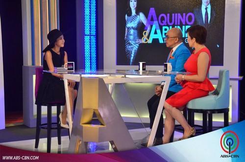 Aquino & Abunda Tonight with Sandara Park