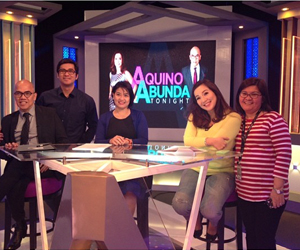 Behind-the-scenes PHOTOS: Aquino & Abunda Tonight's First Episode