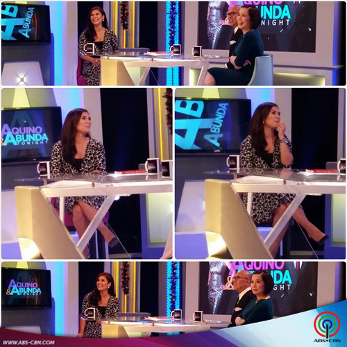 Vina Morales during her AAT guesting