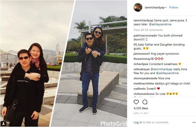IN PHOTOS: Richard Yap with his lovely unica hija