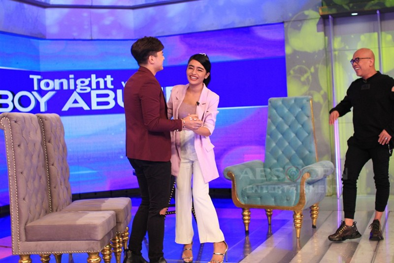 PHOTOS: Charles Kieron and Vivoree Esclito on Tonight With Boy Abunda