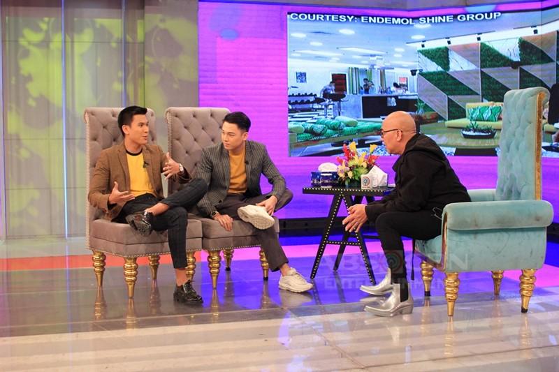 PHOTOS: Gino Roque and Sky Quizon on Tonight With Boy Abunda