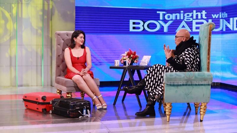 PHOTOS: Dimples Romana on Tonight With Boy Abunda