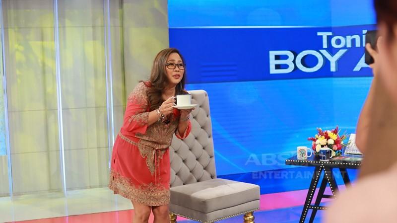 PHOTOS: Direk Cathy Garcia Molina on Tonight with Boy Abunda