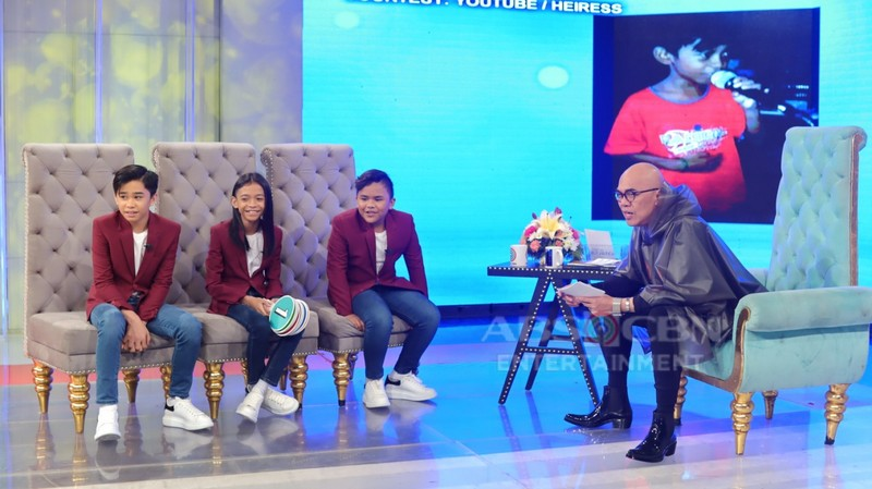 PHOTOS: TNT Boys on Tonight with Boy Abunda