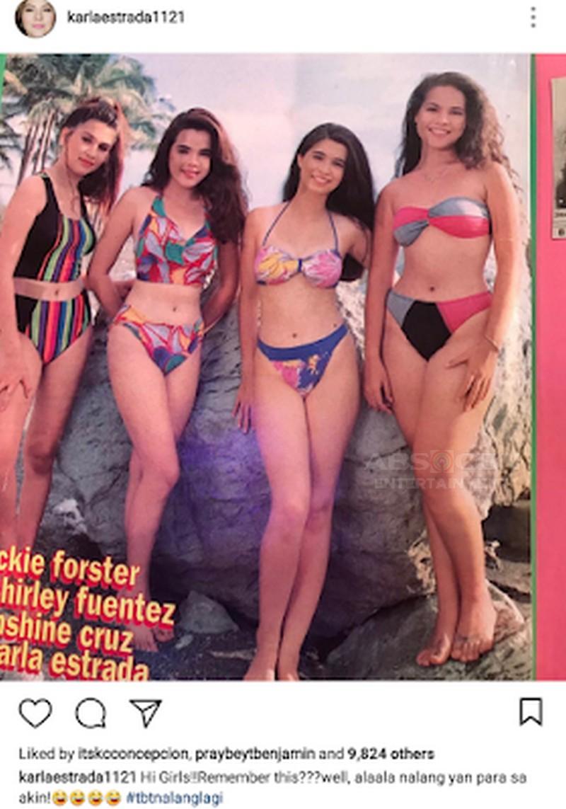 """""""Na-link kami kasi masyado raw kaming close! """" Check out Sunshine Cruz and Karla Estrada's friendship through the years!"""