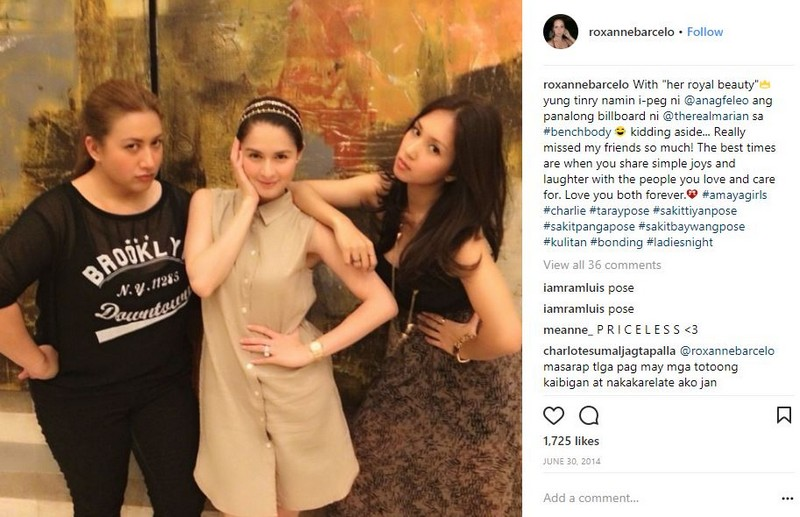 LOOK: 26 Photos of Roxanne Barcelo and Marian Rivera's friendship through the years