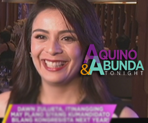 Dawn Zulueta running for congress in 2016?  Thumbnail