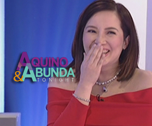 Kris Aquino could not help but laugh at the new title of her MMFF movie Thumbnail