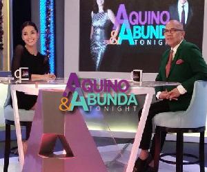 Aquino & Abunda Tonight with Bianca Gonzalez-Intal